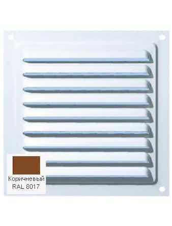 Решетка металлическая МВМ 200c коричневая