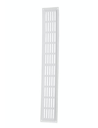 Решетка вентиляционная дверная Вентс МВМ 10-3 с, 475 х 80 мм, белая