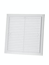 Решетка вентиляционная, белая, 250 х 250 мм