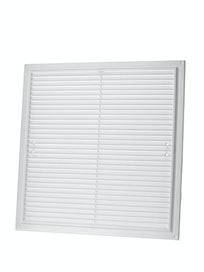 Решетка вентиляционная ДB 8817, белая, 350 х 350 мм