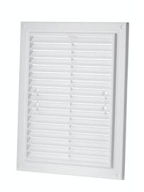 Решетка вентиляционная, белая, 215 х 175 мм
