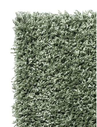 Ковер длинноворсовый Moldabela Shaggy Viva 1039 1 33600, 0,8 x 1,5 м, зеленый
