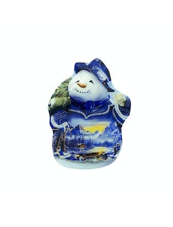 Тарелка Snowman, малая, 20 см