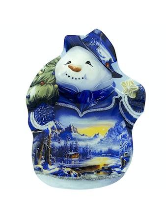 Тарелка Snowman, большая, 26,5 см