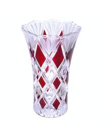 Ваза Гранат 24 см стекло