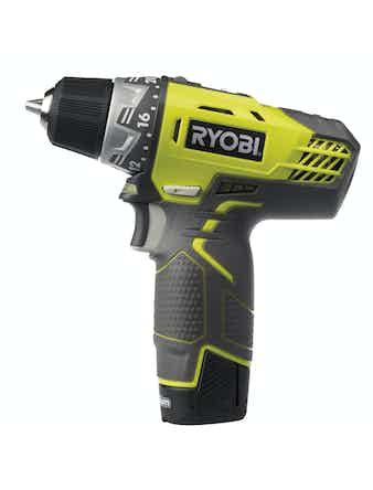 Skruvdragare Ryobi R12DD-LL13S 2 Batterier 12V