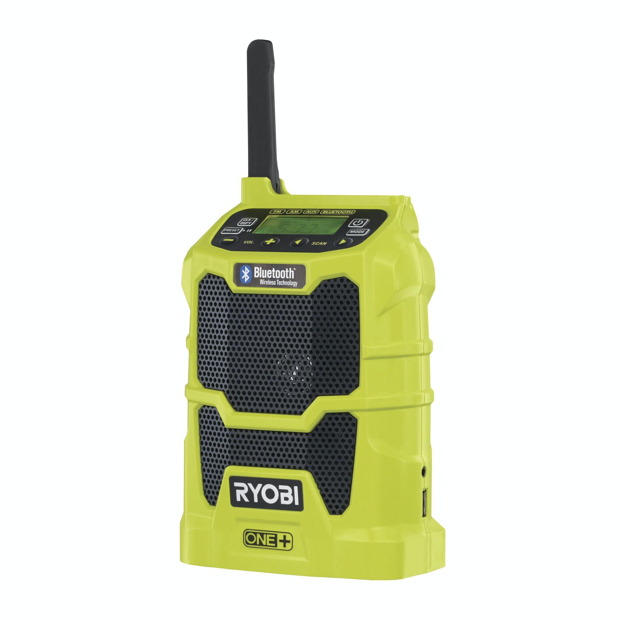 Radio Ryobi R18R-0 18V One+ Bluetooth