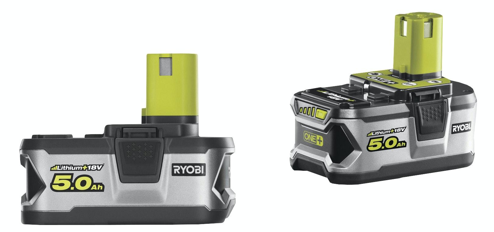 Batterier Ryobi RB18LL50 2x5,0AH 18v