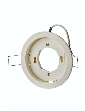 Светильник встраеваемый Jazzway PGX53, пластиковый, белый