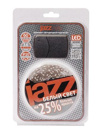 Лента (набор) Jazzway LED 3.6м IP20 холодный свет
