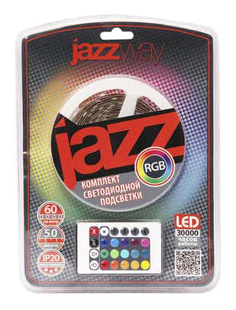 Лента (набор) Jazzway LED RGB 4 м IP65
