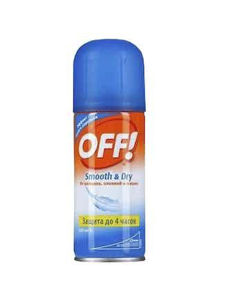 Аэрозоль OFF! Smooth&Dry от насекомых 100 мл