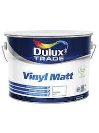 Краска водно-дисперсионная Dulux Trade Vinyl Matt белая 10 л