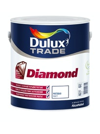 Краска Dulux Trade Diamond Matt, матовая, база BC, 2,5 л