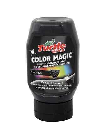 Полироль восковой цветообогащенный Color Magic чёрный