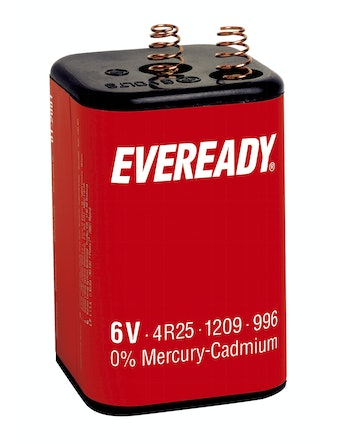 Batteri Energizer Eveready 4R25/VP996 6 V