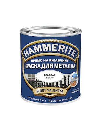 Краска Hammerite белый 0,75 л