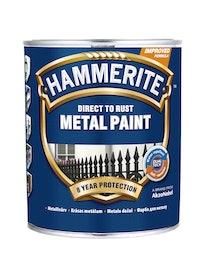 Краска Hammerite, гладкая, коричневая, 2,5 л