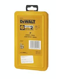 Набор буров DeWalt DT9701 SDS+, 7 шт.