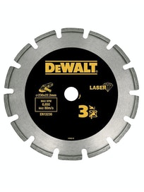 Диск алмазный сегментированный DeWalt DT3761