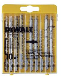 Набор пилок по дереву DeWalt DT2290, 10 шт.