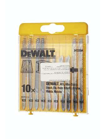 Sticksågsbladsats Dewalt Trä Metal DT2294
