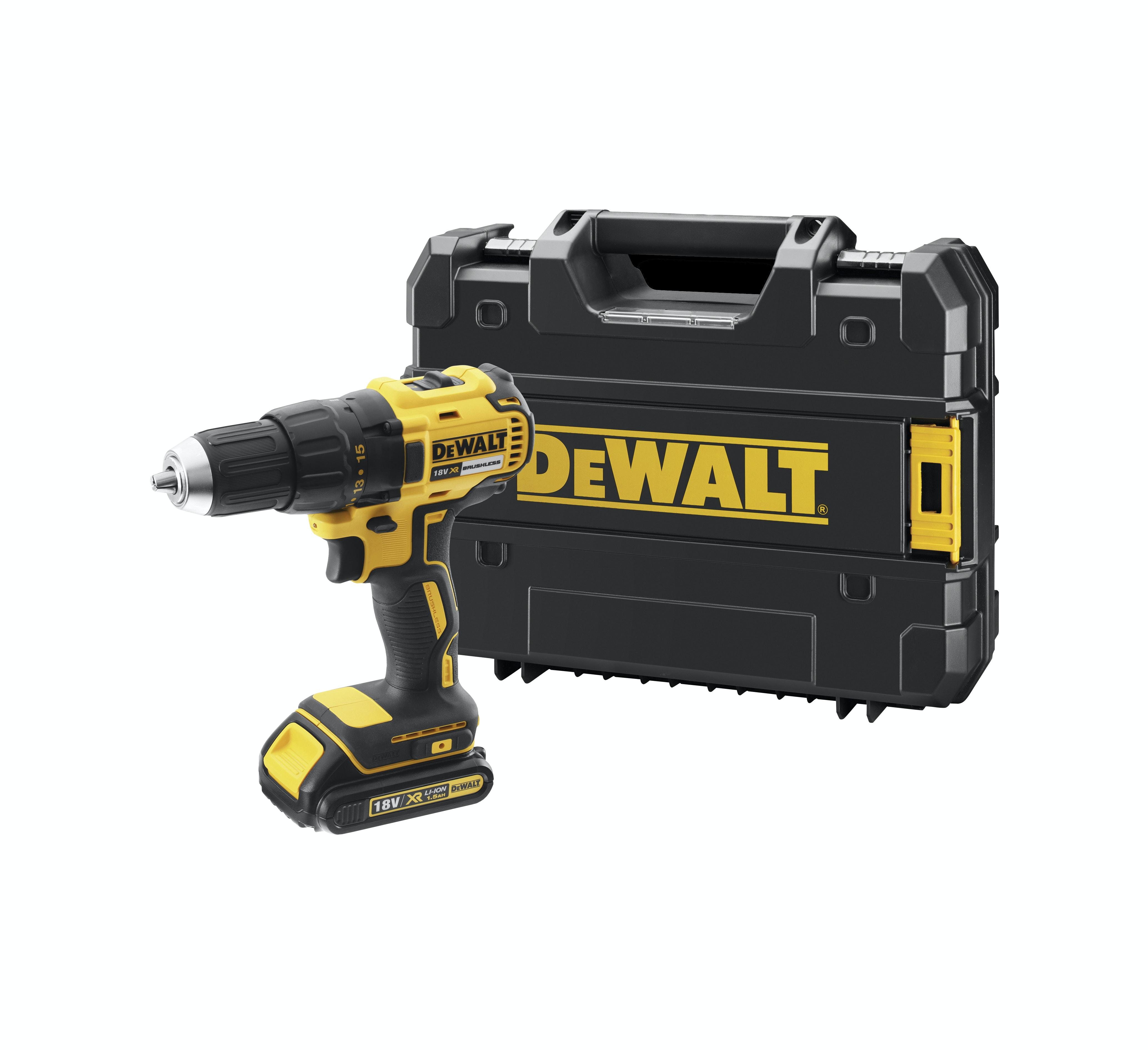 Borrskruvdragare Dewalt DCD777S2T-QW 18V