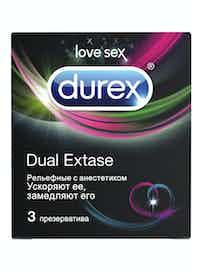 Презервативы Durex Extra Safe, утолщенные, 3 шт.