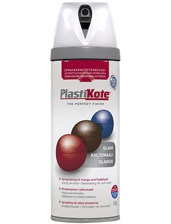 Sprayfärg Plastikote Blank Vit
