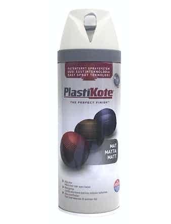 Sprayfärg Plastikote Matt Vit