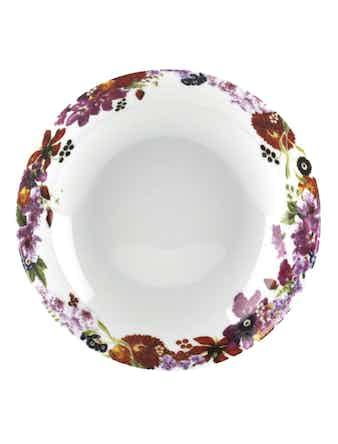 Тарелка суповая FRUITS BOUQUET 21см
