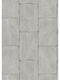 Виниловые обои Ideco Textured Plains TP3004, 0,53 х 10,05 м, серые