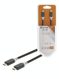 KAAPELI KÖNIG USB-C 3.1 1 M USB-C UROS - USB-C UROS GEN2