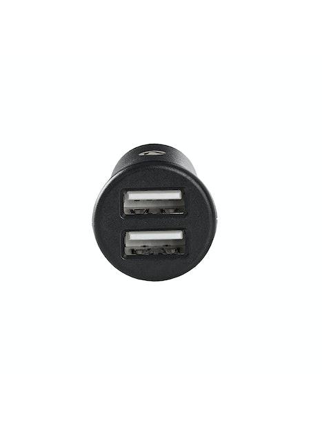 AUTOLATURI NEDIS 2 X USB-A 2.4 A MUSTA