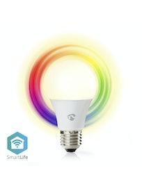 LED-LAMPPU NEDIS WIFI 800LM E27 2700K+RGB