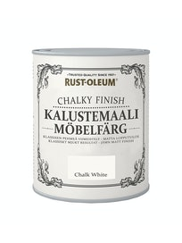 RUST-OLEUM CHALKY FINISH KALUSTEMAALI 750ML CHALKY WHITE