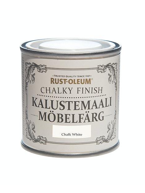 RUST-OLEUM CHALKY FINISH KALUSTEMAALI 125ML CHALKY WHITE