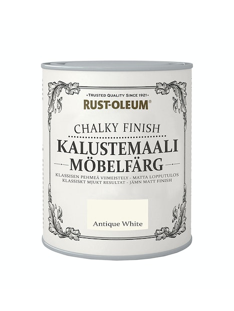 RUST-OLEUM CHALKY FINISH KALUSTEMAALI 750ML ANTIQUE WHITE