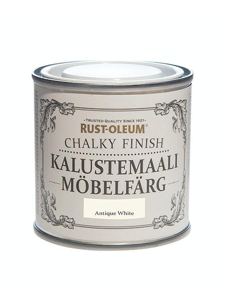 RUST-OLEUM CHALKY FINISH KALUSTEMAALI 125ML ANTIQUE WHITE