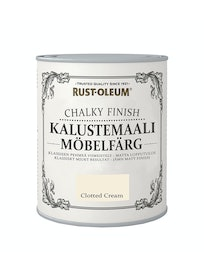 RUST-OLEUM CHALKY FINISH KALUSTEMAALI 750ML CLOTTED CREAM