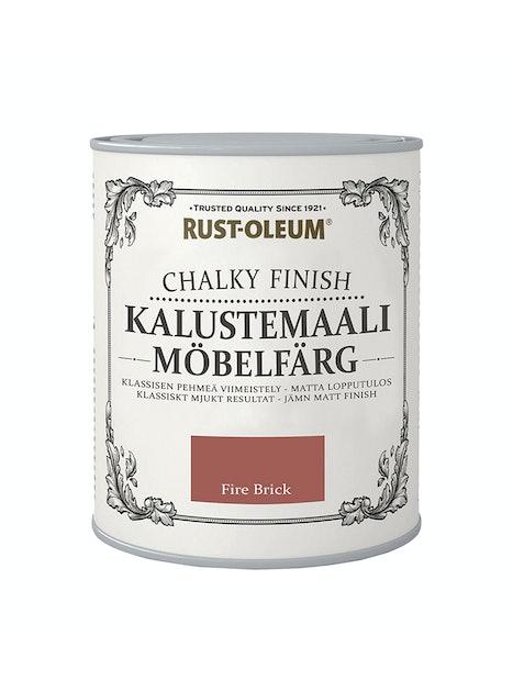 RUST-OLEUM CHALKY FINISH KALUSTEMAALI 750ML FIRE BRICK