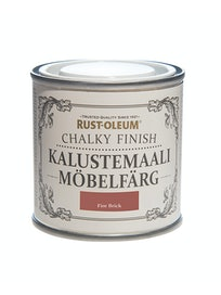 RUST-OLEUM CHALKY FINISH KALUSTEMAALI 125ML FIRE BRICK