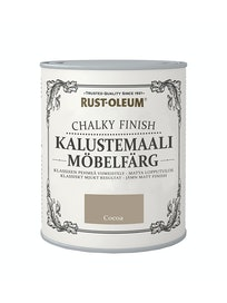 RUST-OLEUM CHALKY FINISH KALUSTEMAALI 750ML COCOA