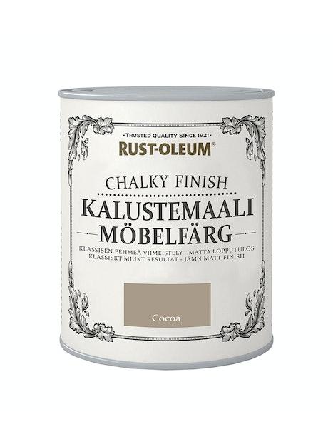 RUST-OLEUM CHALKY FINISH KALUSTEMAALI 750ML COCOA