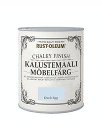 RUST-OLEUM CHALKY FINISH KALUSTEMAALI 750ML DUCKEGG
