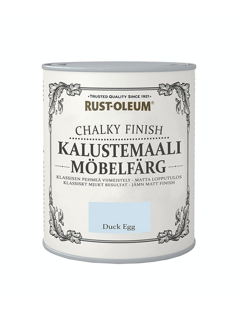 RUST-OLEUM CHALKY FINISH KALUSTEMAALI 750ML DUCKEGG