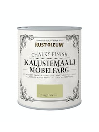 RUST-OLEUM CHALKY FINISH KALUSTEMAALI 750ML SAGE GREEN