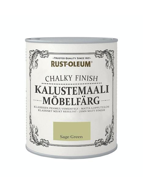 RUST-OLEUM CHALKY FINISH KALUSTEMAALI 750ML SAGE GREEN