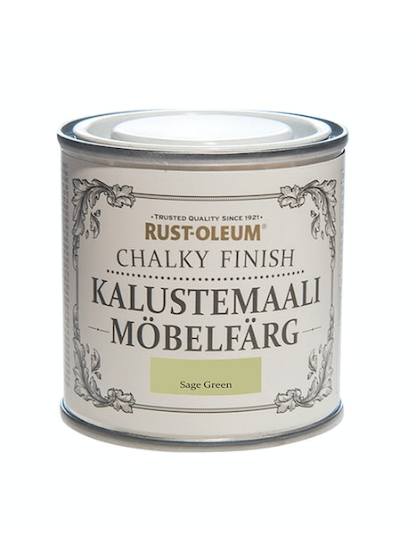 RUST-OLEUM CHALKY FINISH KALUSTEMAALI 125ML SAGE GREEN