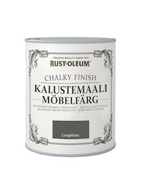 RUST-OLEUM CHALKY FINISH KALUSTEMAALI 750ML GRAPHITE